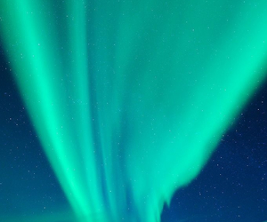 aurora borealis, green, and lights image