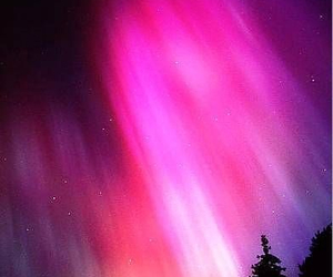 aurora, beautiful, and pink image