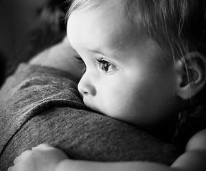 babies, mum, and thinking image