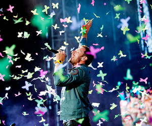 butterflies, music, and mylo xyloto image