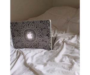 apple, tumblr, and laptop image