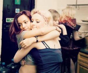 hug, perrie edwards, and jade thirlwall image