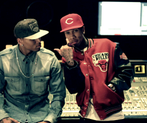 chris brown, tyga, and swag image
