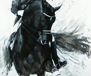 dressage, horse, and totilas image