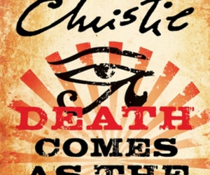 agatha christie and book image