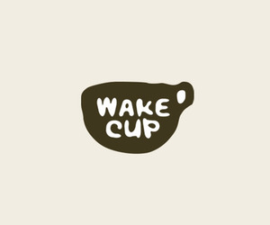 wake up, coffee, and cup image