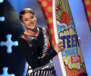 Shailene Woodley, teen choice awards, and tca image