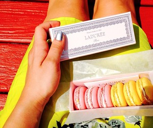 candy, colours, and laduree image