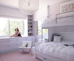 small table, bedroom., and elegant bedroom image