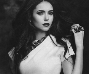 beauty, black and white, and vampires image