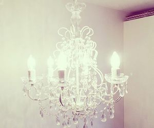 beautiful, chandelier, and luxury image