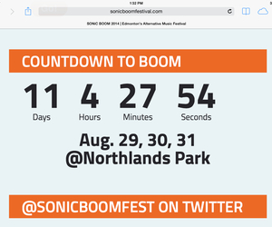 arctic monkeys, countdown, and festival image