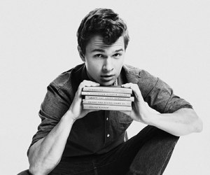 ansel elgort, tfios, and book image