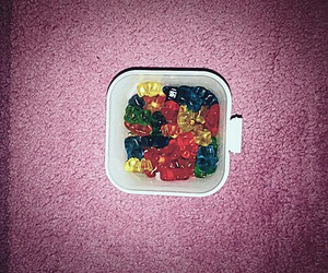 candy, delicious, and gummie bear image