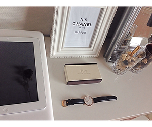 apple, brush, and chanel image