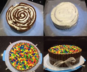 bar, birthday, and cake image