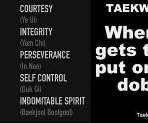 martial arts, taekwondo, and self control image