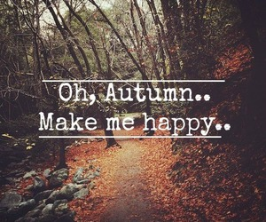 autumn and happy image
