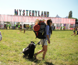 festival, music, and mysteryland image