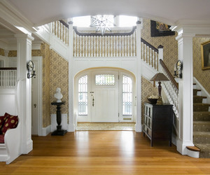 decoration., lighting systems, and neutral color palettes image