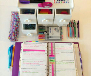 planner, back to school, and school image