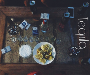 cigarettes, lemon, and party image