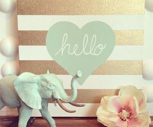 card and elephant image
