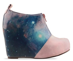 cosmic, galaxy, and heels image