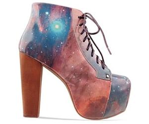 shoes, galaxy, and jeffrey campbell image
