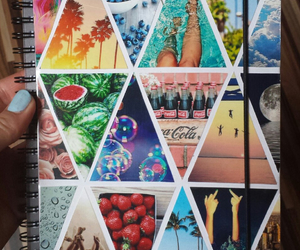 diy, notebook, and summer image