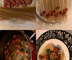food, pasta, and cook image