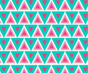 wallpaper, pink, and triangle image