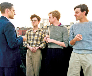Allen Ginsberg, daniel radcliffe, and kill your darlings image