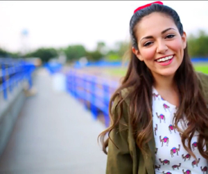 bethany mota, bow, and highlights image