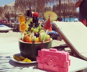 summer, chanel, and fruit image