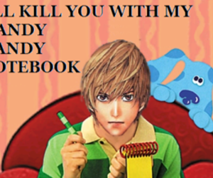 death note, blues clues, and light image