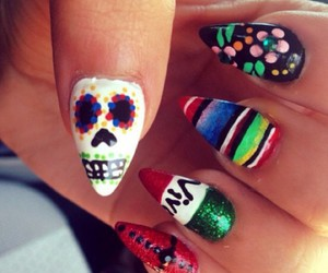 amazing, mexico, and nails image