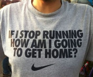 nike, running, and fitness image