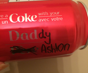 ashton, coca-cola, and joke image