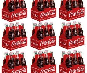 background, cocacola, and cola image