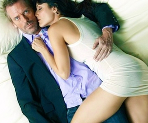 cuddy, dr house, and gregory house image