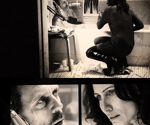 cuddy, gregory house, and hugh laurie image