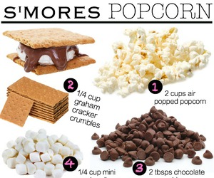 food, popcorn, and recipe image