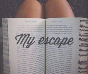 book and escape image