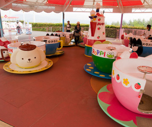 hello kitty, photography, and ride image