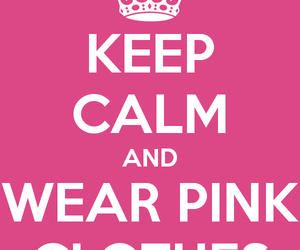 cover, keep calm, and pink image