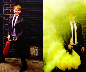 rupert grint and harry potter image
