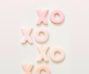 pastel, pink, and xoxo image