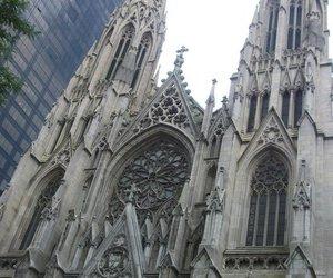 church, new york city, and saint patricks cathedral image