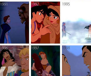 couple, disney, and peter pan image